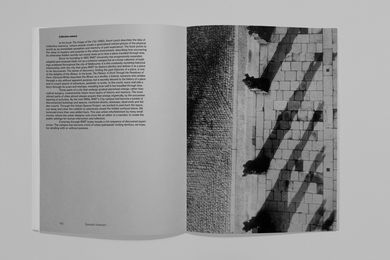 A spread from Episodic Urbanism: RMIT Urban Spaces Project 1996–2015.