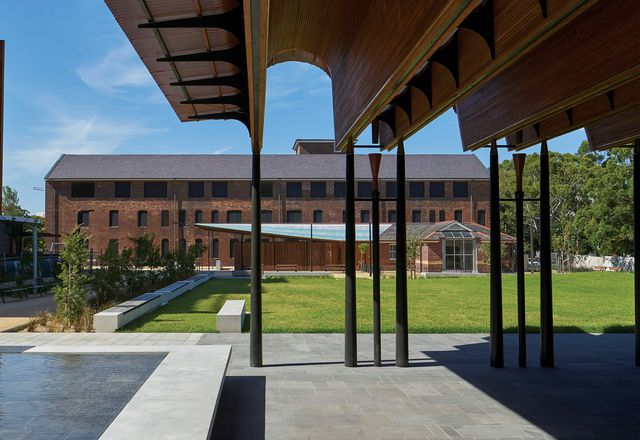 Former South Sydney Hospital Site – Stage 1 by  City of Sydney with Peter Stutchbury Architecture, Design5, JMD, Sprout, CAB, Fox Johnston, Jane Irwin Landscape Architecture and CHROFI