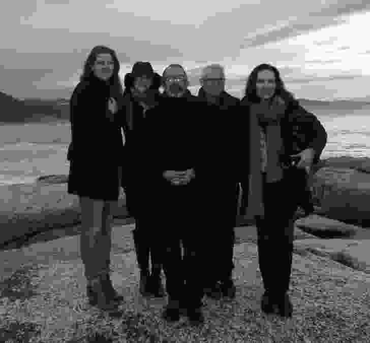 The 2014 National Architecture Awards jury (L–R): Clare Cousins, Lindy Johnson, Justin Hill, Paul Berkemeier, Virginia Kerridge.