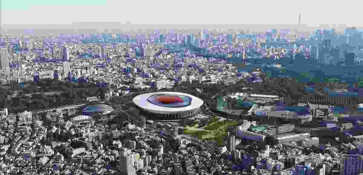 Toyo Ito's design for Tokyo Olympic Stadium.