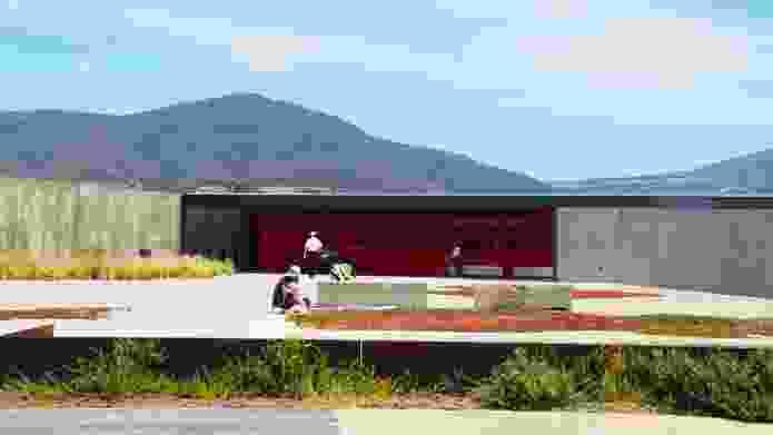 GASP! Stage 2 - Glenorchy Art and Sculpture Park, Hobart, Tasmania.