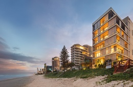 'An authentic architecture of materiality': M3565 Main Beach Apartments