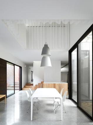 Suburban enigma may grove architectureau for Void architecture definition