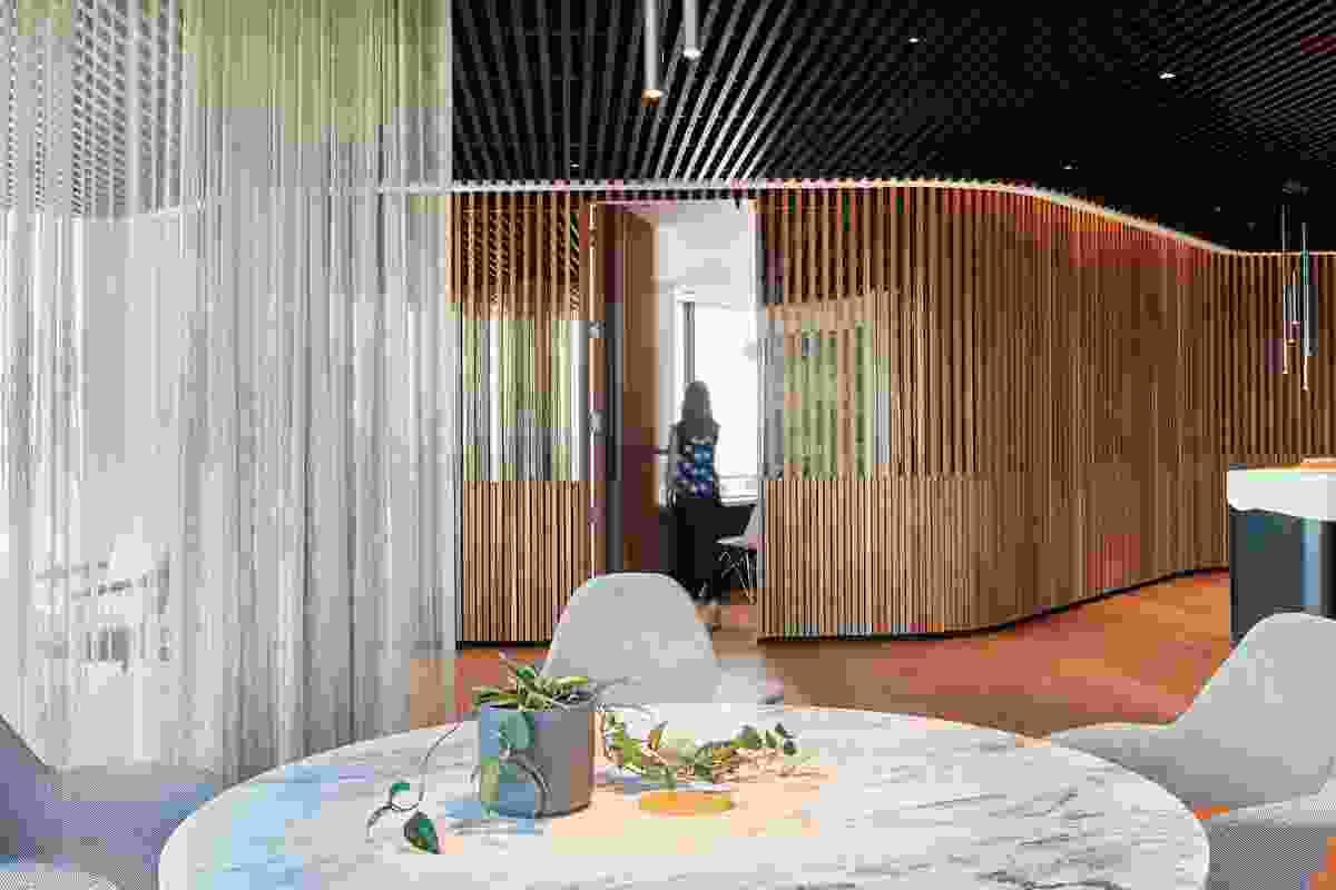 Plenary Office Fitout Melbourne by Woods Bagot.