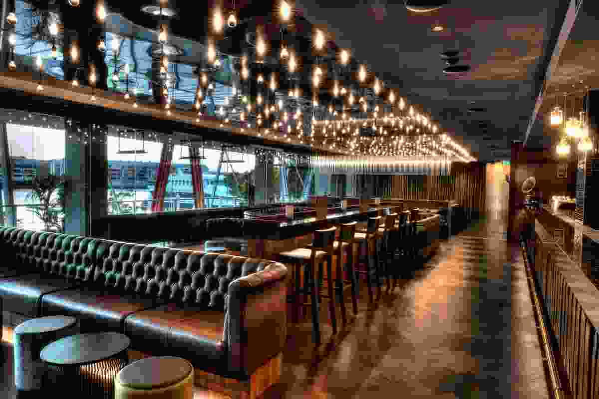 The Hudson Restaurant and Bar by Squillace Architects.