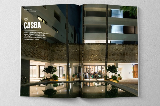 Casba by Billard Leece Partnership and SJB Architects.