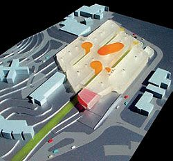 Competition model, showing meeting nodes