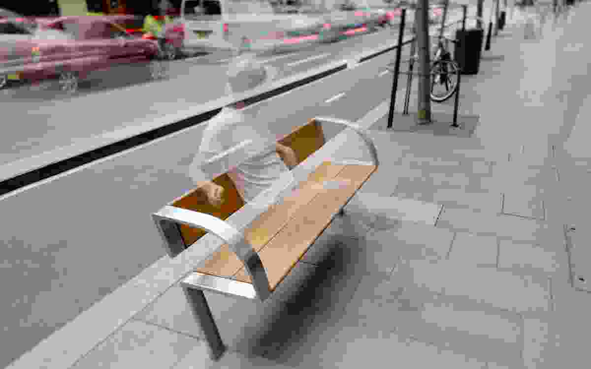 City of Sydney Public Domain Furniture by Tzannes.