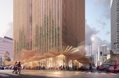 Koichi Takada Architects' LA tower proposal inspired by Marilyn Monroe's 'flying skirt'
