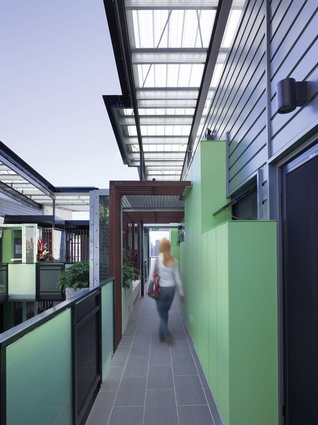 Constance Street Affordable Housing by Cox Rayner Architects.
