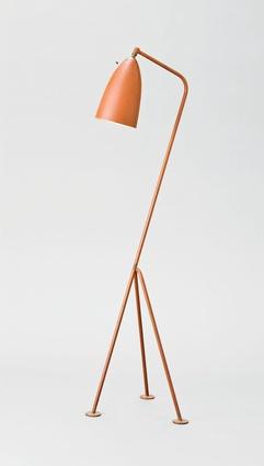 Grasshopper lamp, Greta Magnusson Grossman (1906–99) and Ralph O. Smith Manufacturing Company c. 1949–54, Lamp c. 1949.