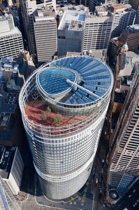 1 Bligh St by Architectus and Ingenhoven Architects.