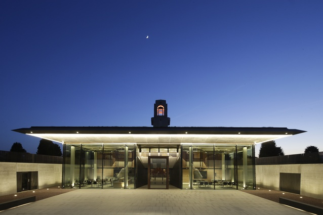 The Sir John Monash Centre by Cox Architecture with Williams, Abrahams and Lampros.