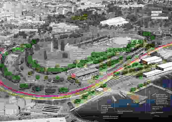 Queens Domain Master Plan 2012-2032 by Inspiring Place.