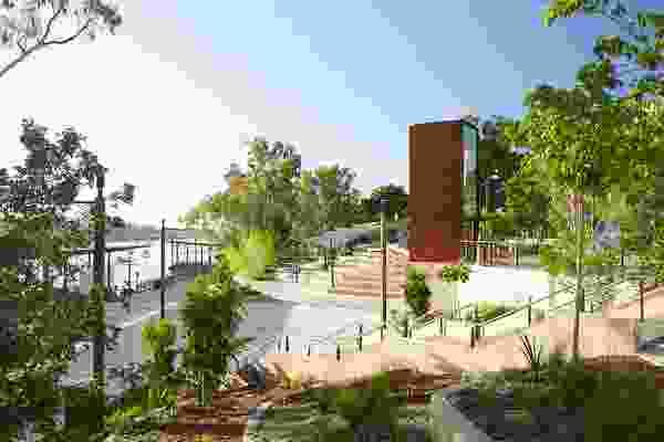 Rockhampton Riverside Revitalisation by Urbis.