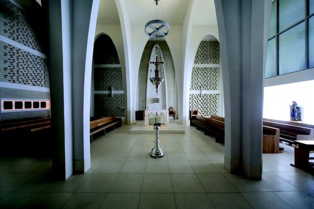 MacKillop Chapel for Australian Catholic University by Woods Bagot.