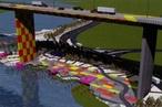 West gate bridge memorial park