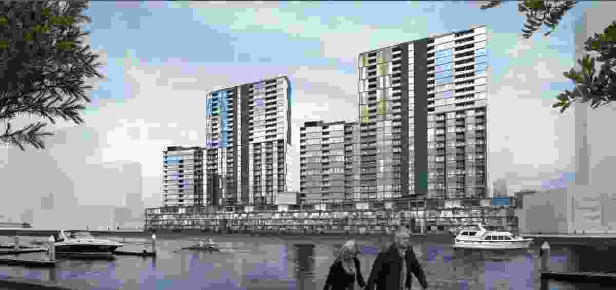 Collins Wharf 2 and 3 by Warren and Mahoney.