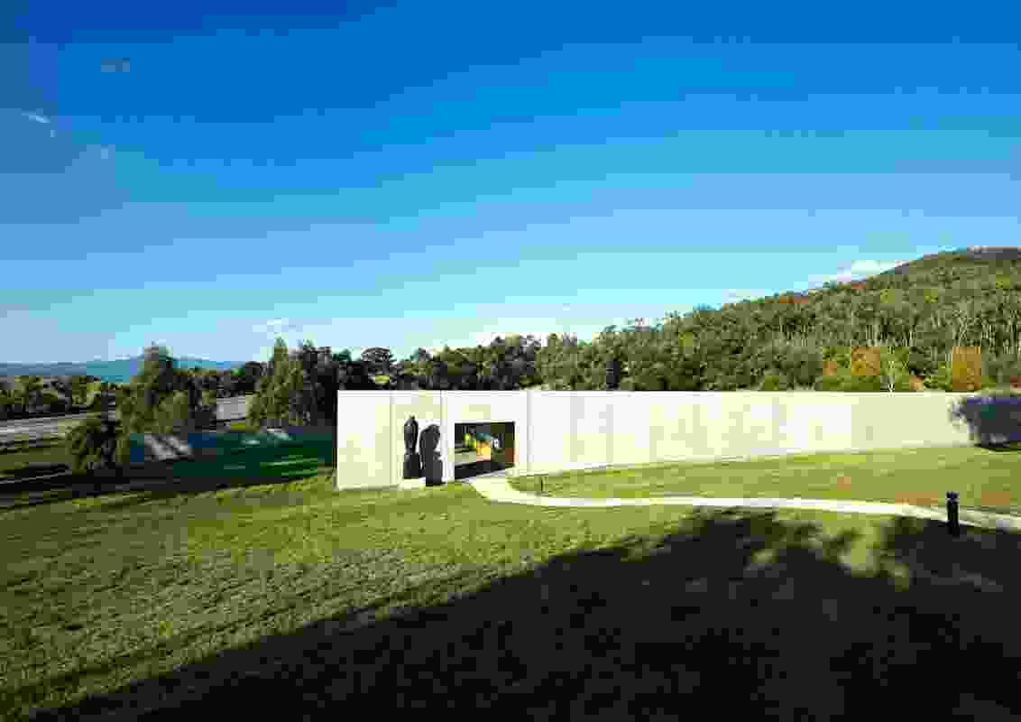 Medhurst Winery by Folk Architects.