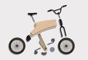 Bike-Up assembly kit by Sydney-based industrial designer Asher Abergel.