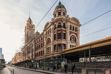 Flinders Street Station Facade Strengthening and Conservation by Lovell Chen.