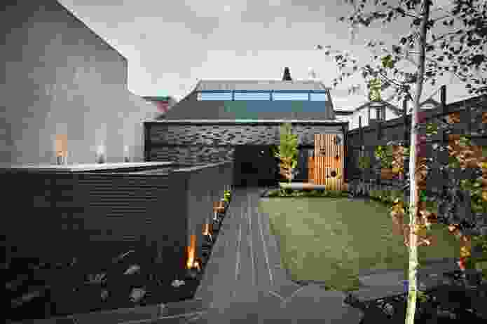 """Surrounded by high walls, the internal garden has """"that intriguing sense of urban tranquillity."""""""