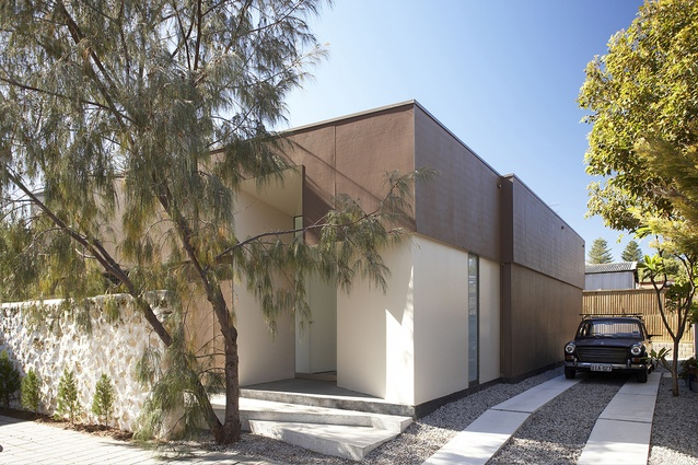 The Fremantle House by Simon Pendal and Rebecca Angus is an example of infill housing at the rear of heritage cottage.