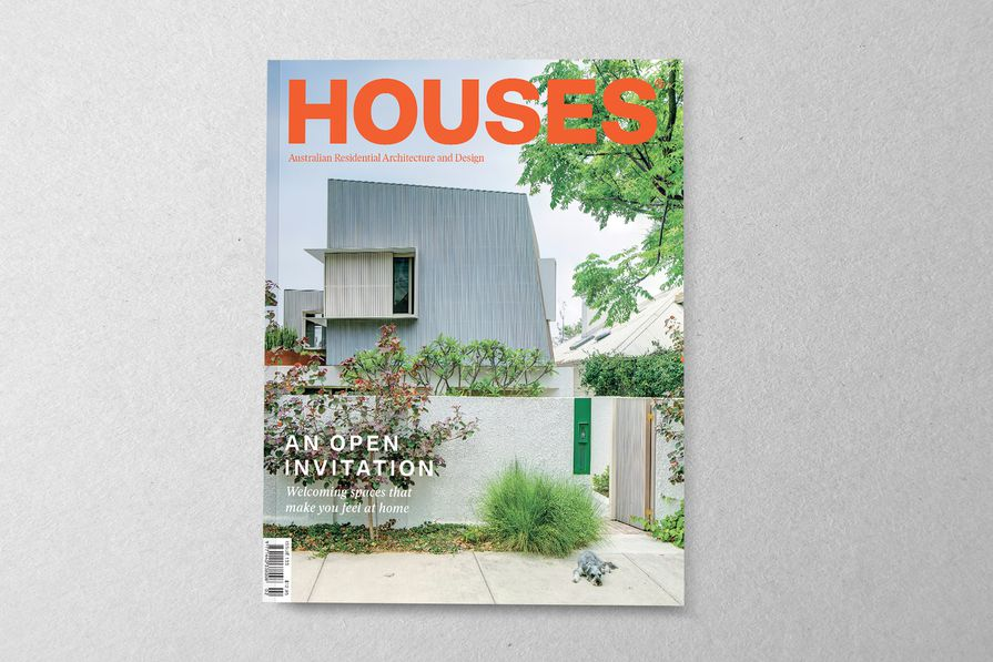 Houses 133. Cover project: Ballast Point House by Fox Johnston.