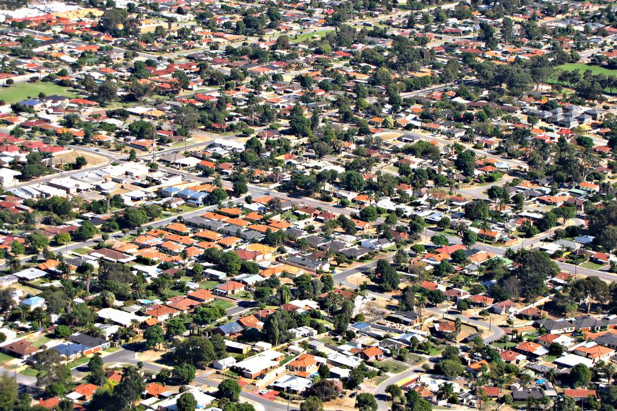 The population densities of most Australian cities are among the very lowest of cities with a population more than half a million people.