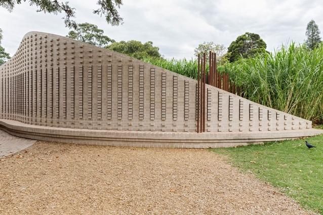 Melbourne Zoo - Predator Precinct Pledge Wall by Ola Studio.