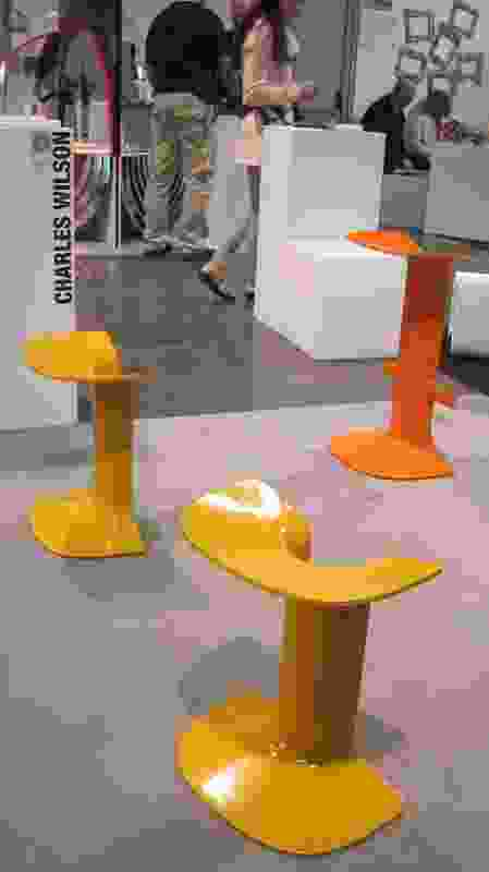Serif stool by Australian designer Charles Wilson.