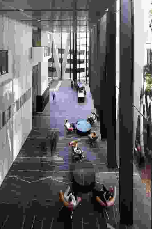 One One One Eagle Street Public Spaces – Cox Rayner Architects.