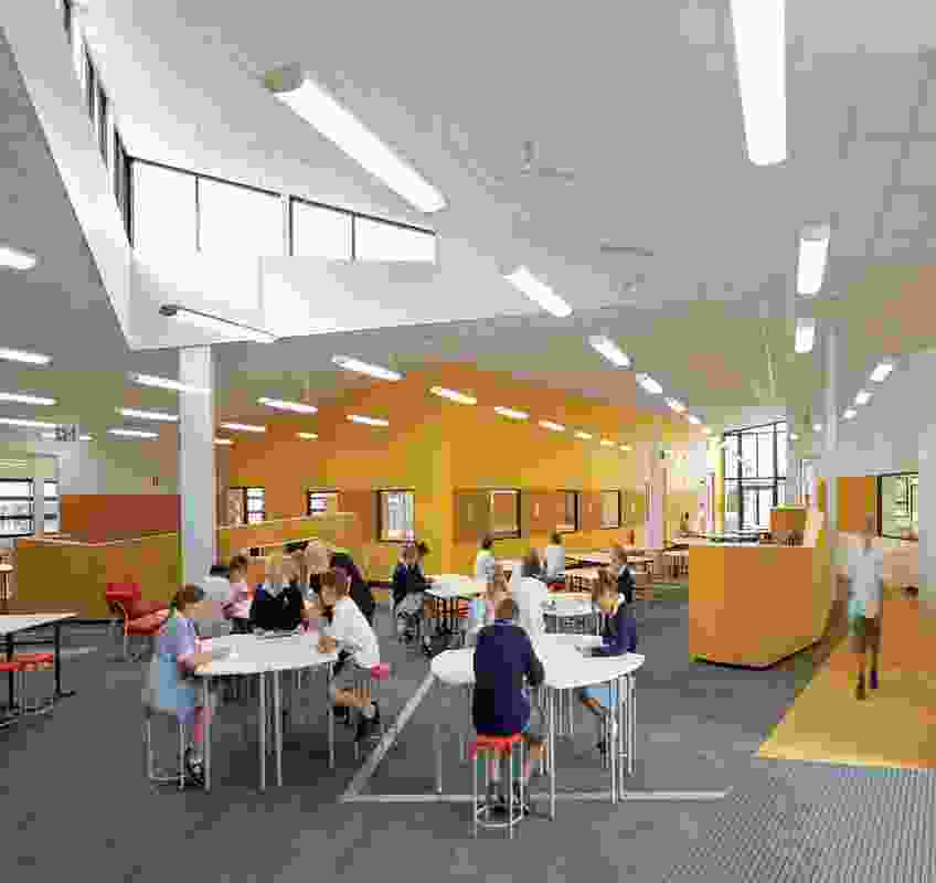 Colour in Commercial Design – Alkira Secondary College by Hayball and Gray Puksand, architects in association.