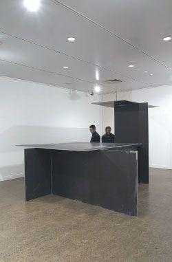 Iredale Pederson Hook Architects. 3x3x32005. Installation view, Monash University Museum of Art.