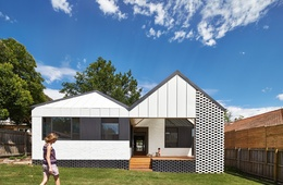 Suburban dialogue: Hip and Gable House