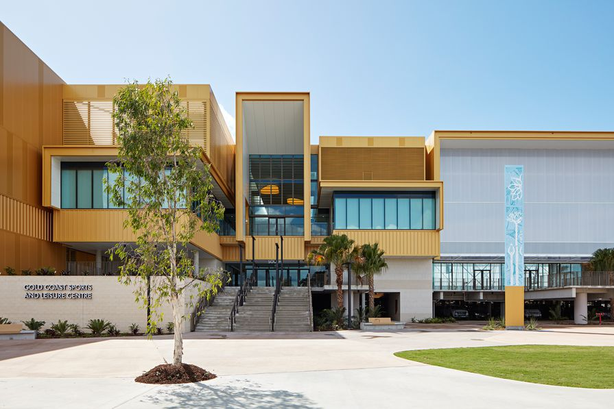 Gold Coast Sports and Leisure Centre by BVN.