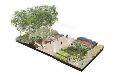 Masterplan for Victoria Square, Adelaide.