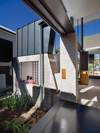 Garden House by Cox Rayner Architects and Twofold Studio.
