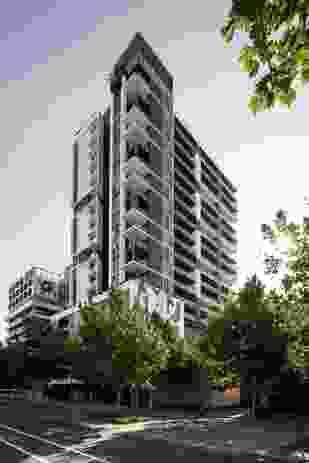 Verdant Apartments by MJA studio.