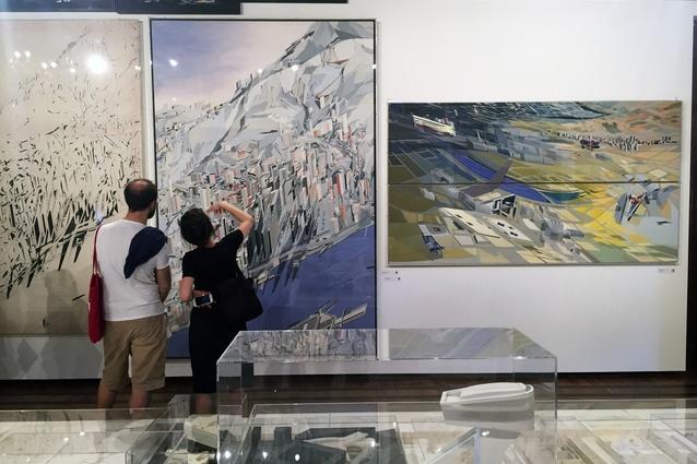 The off-site Zaha Hadid retrospective at the Fondazione Berengo.