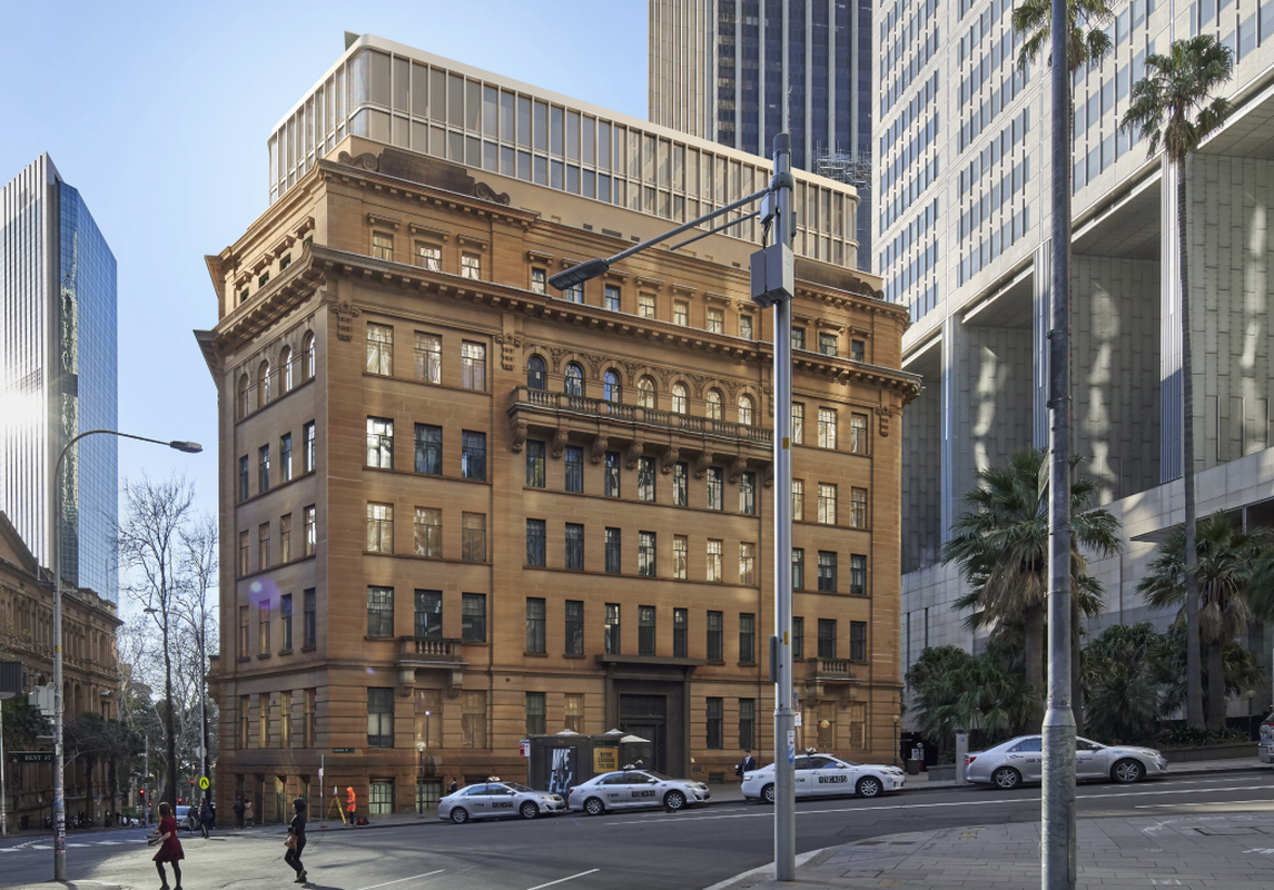 Sydney sandstone buildings' fresh redesign