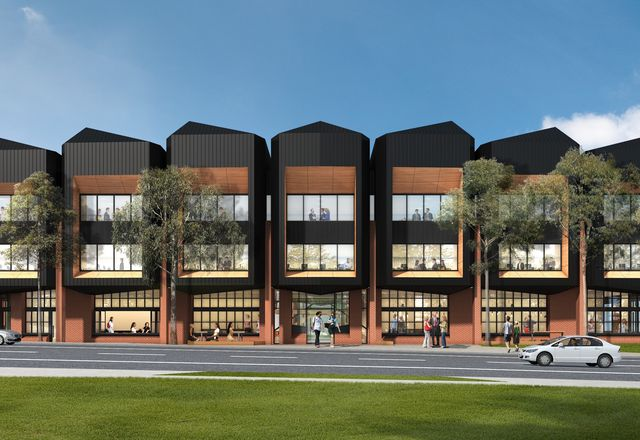 The proposed Latrobe Valley Govhub designed by WMK Architecture.