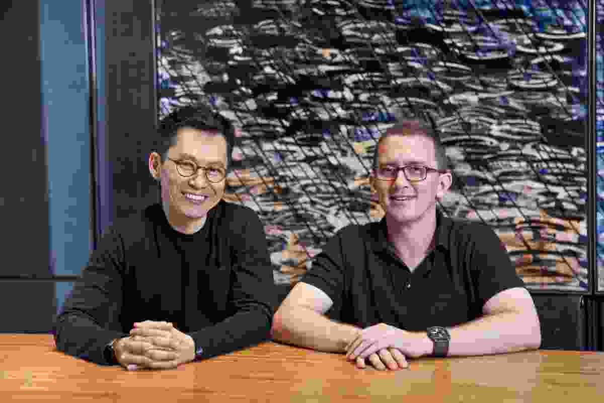WOHA co-founders Wong Mun Summ and Richard Hassell.