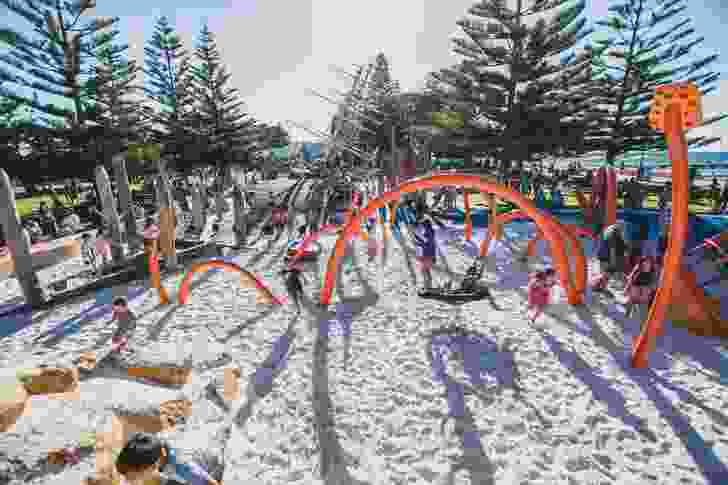 Sea Play On The Bay, Busselton by Plan E won a Landscape Architecture Award in the Play Spaces category.