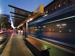 The Glenelg Tramline Extension, winner of the 2008 Adelaide Prize.