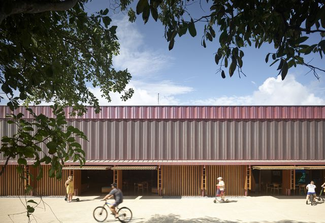 The Queensland Architecture Medallion: Mon Repos Turtle Centre by Kirk.