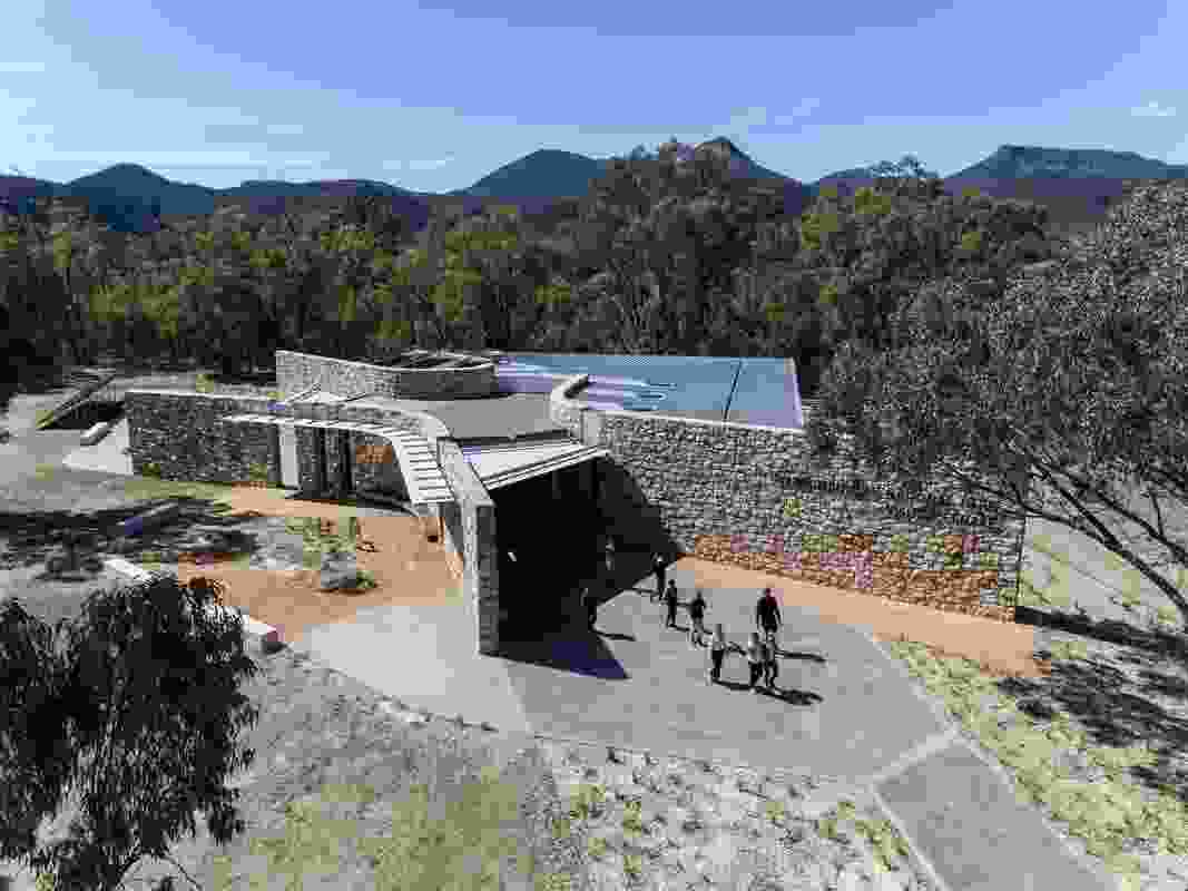 Warrumbungle National Park Visitor Centre by TKD Architects.