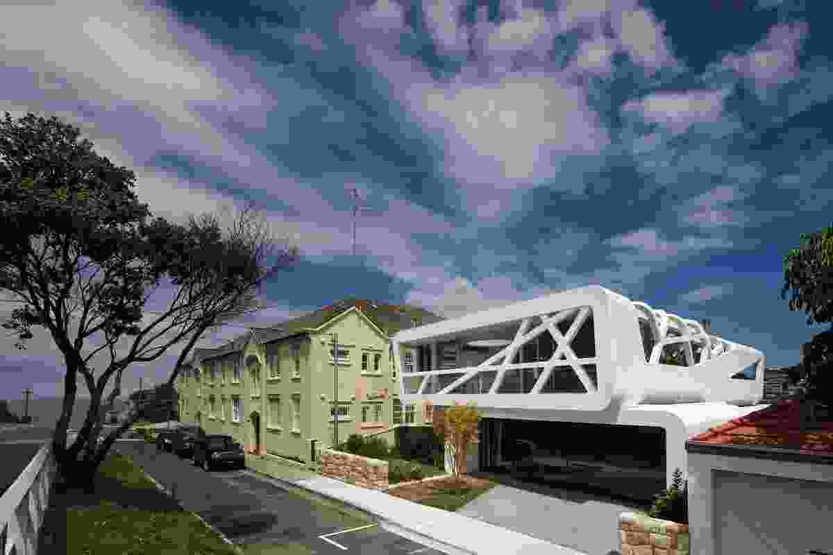 Hewlett House by MPR Design Group.