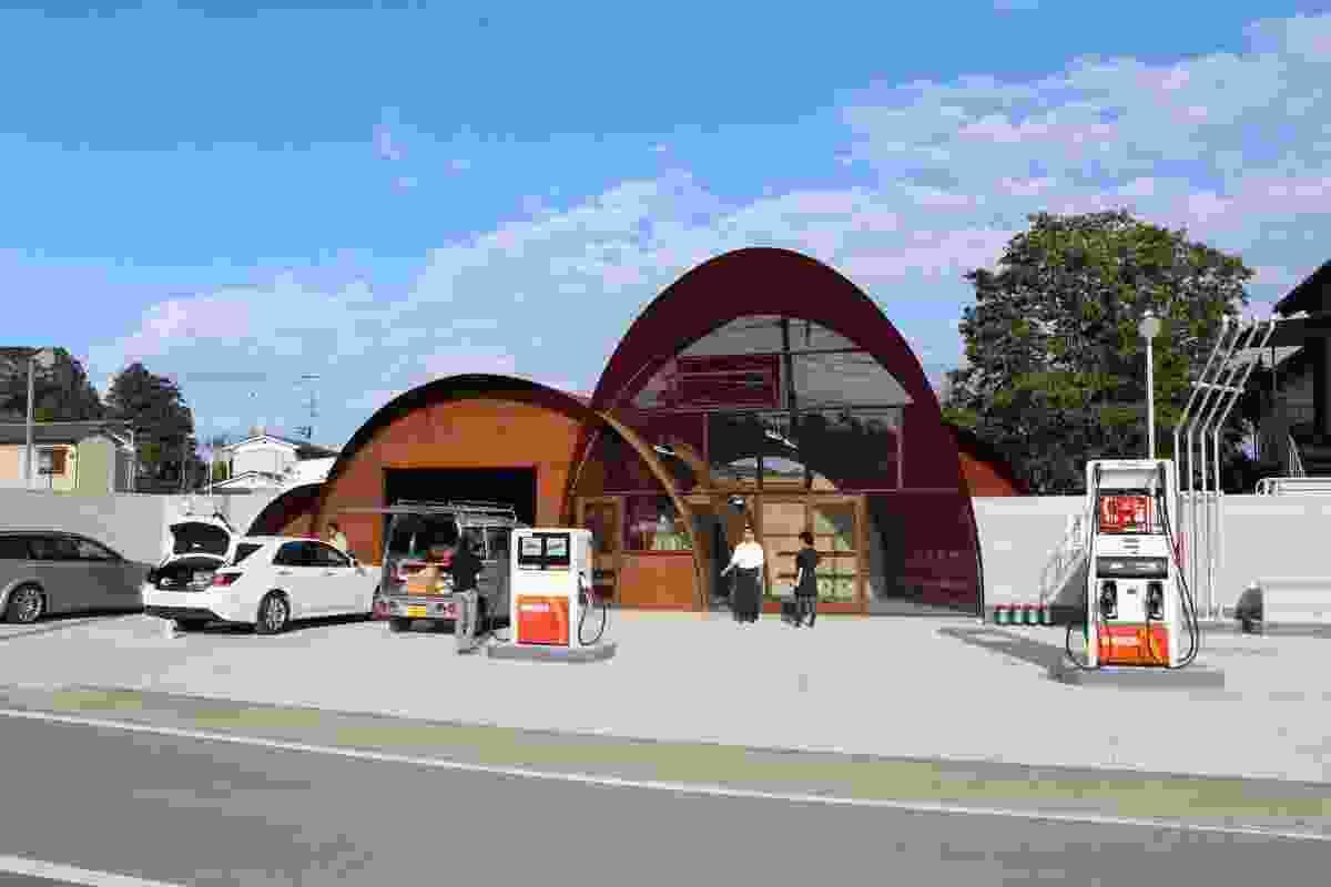 Satoumi station by Onishimaki and Hyakidayuki Architects.