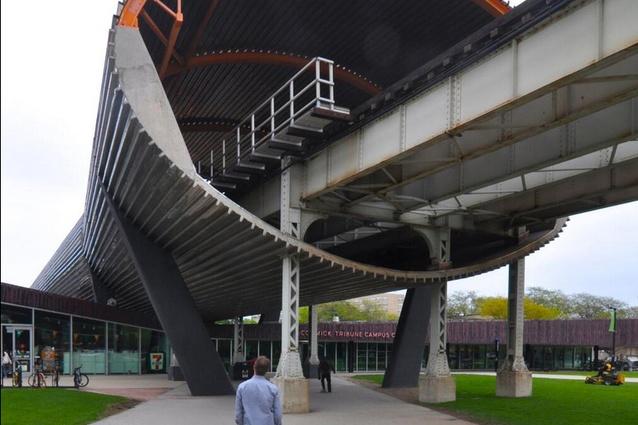 OMA's McCormack Tribune Campus Centre, Chicago.